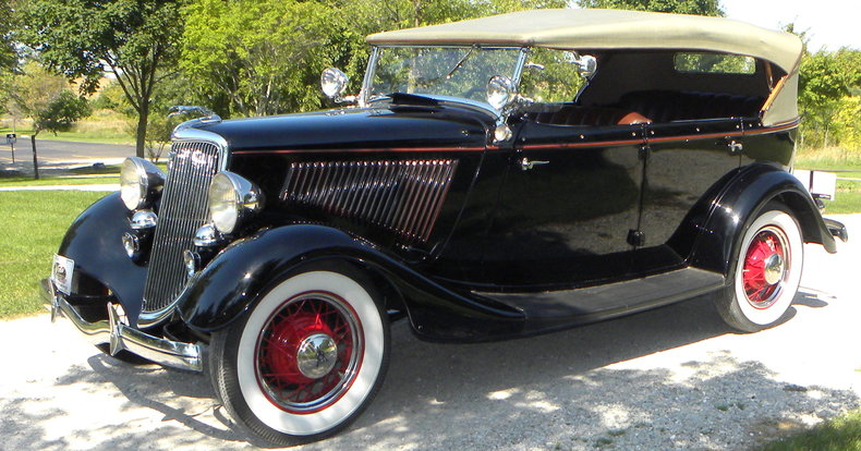 1934 Ford Model 40 Image 7