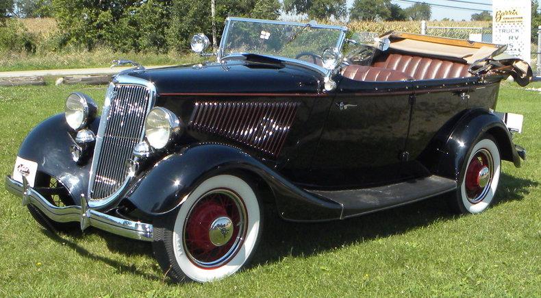 1934 Ford Model 40 Image 8