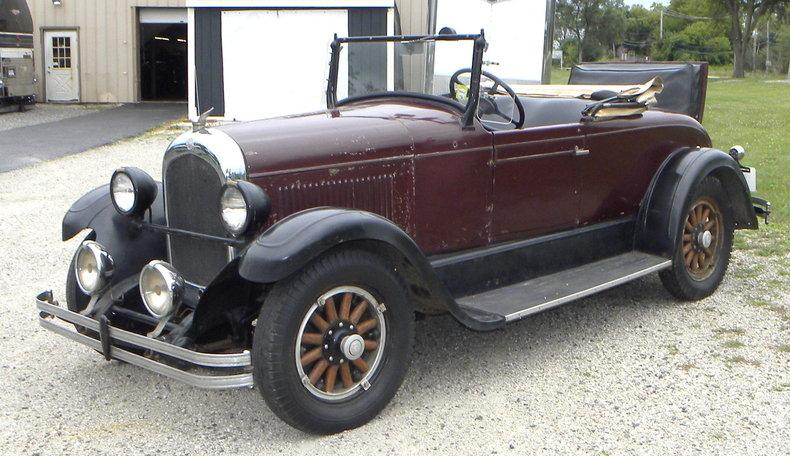 1928 Chrysler 62 Image 3