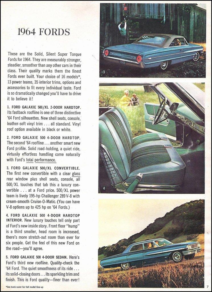 1964 Ford Galaxie 500XL Image 52