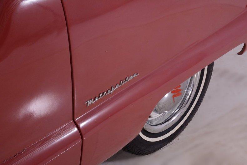 1956 Nash Metropolitan Image 21