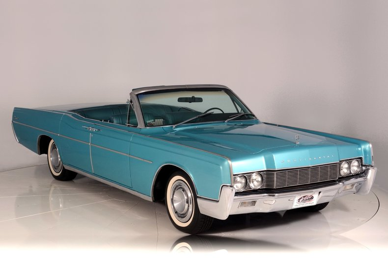 1967 Lincoln Continental Image 67