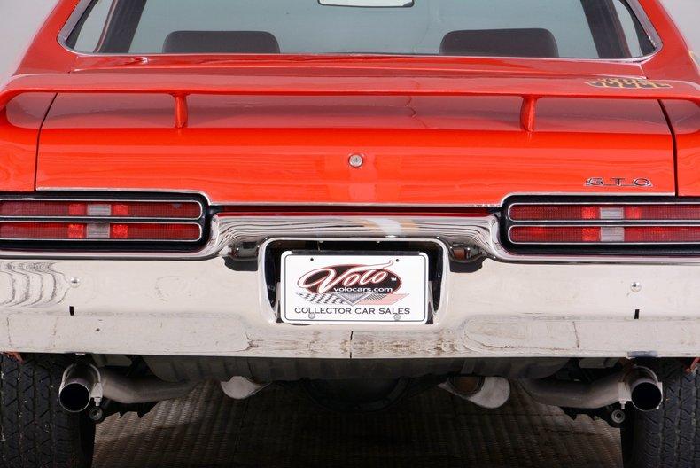 1969 Pontiac GTO Image 25