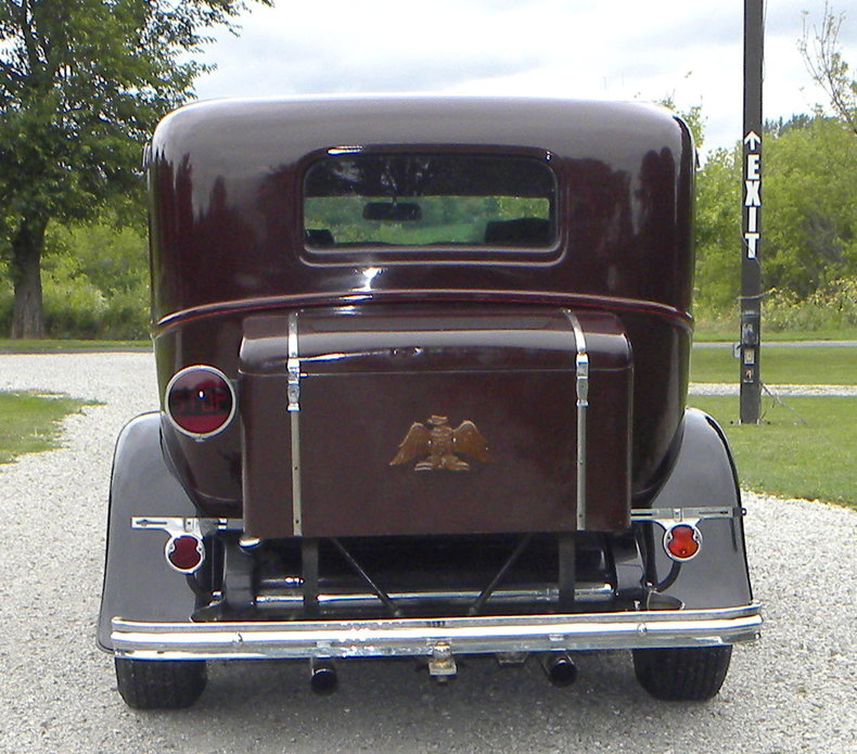 1932 Ford Custom Image 4