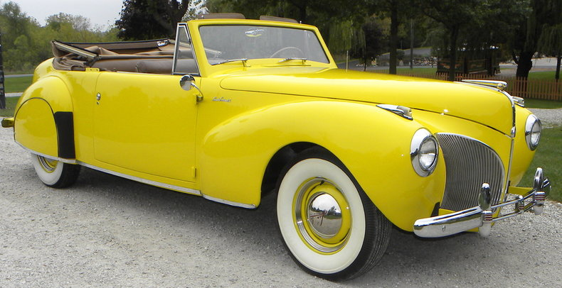1941 Lincoln Continental Image 3