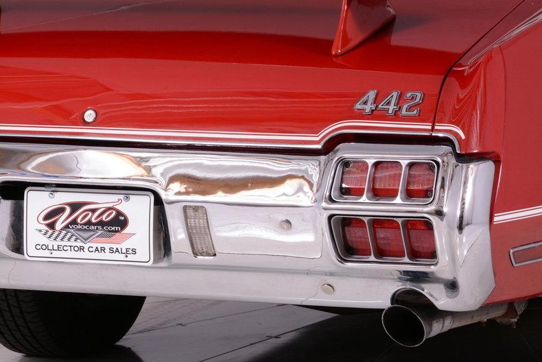 1972 Oldsmobile 442 Image 9