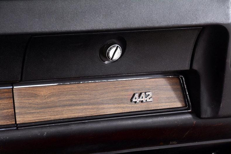 1972 Oldsmobile 442 Image 10