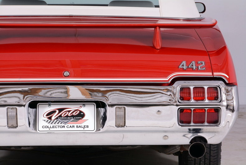 1972 Oldsmobile 442 Image 33