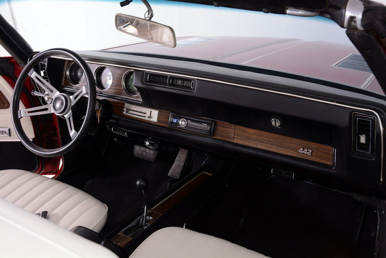 1972 Oldsmobile 442 Image 66
