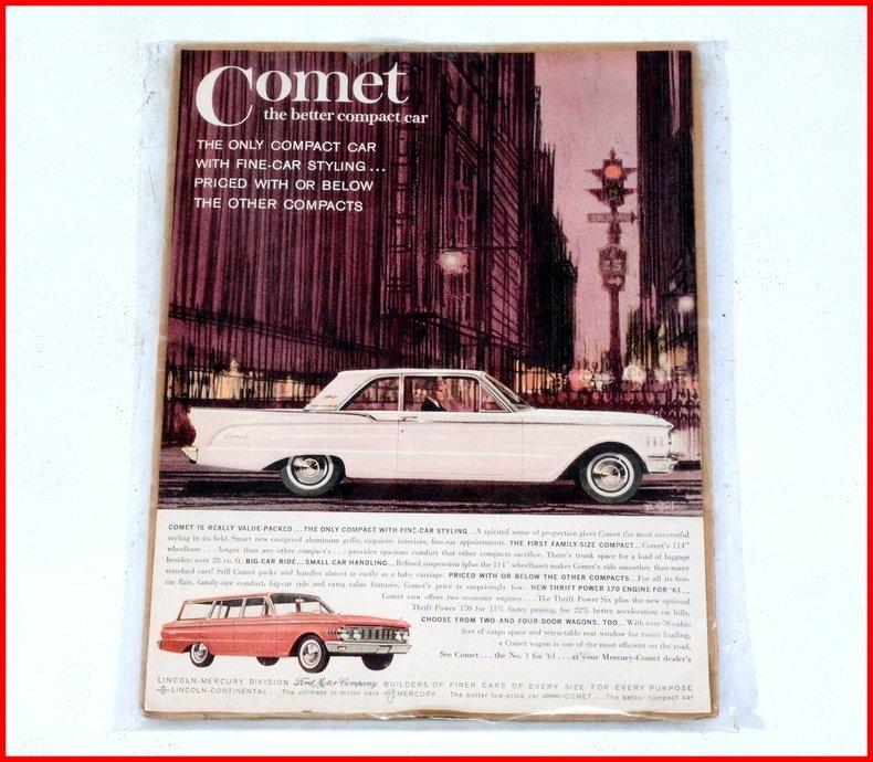 1962 Mercury Comet Image 73