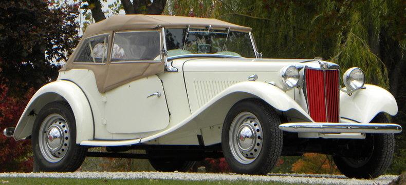 1953 MG TD Image 10