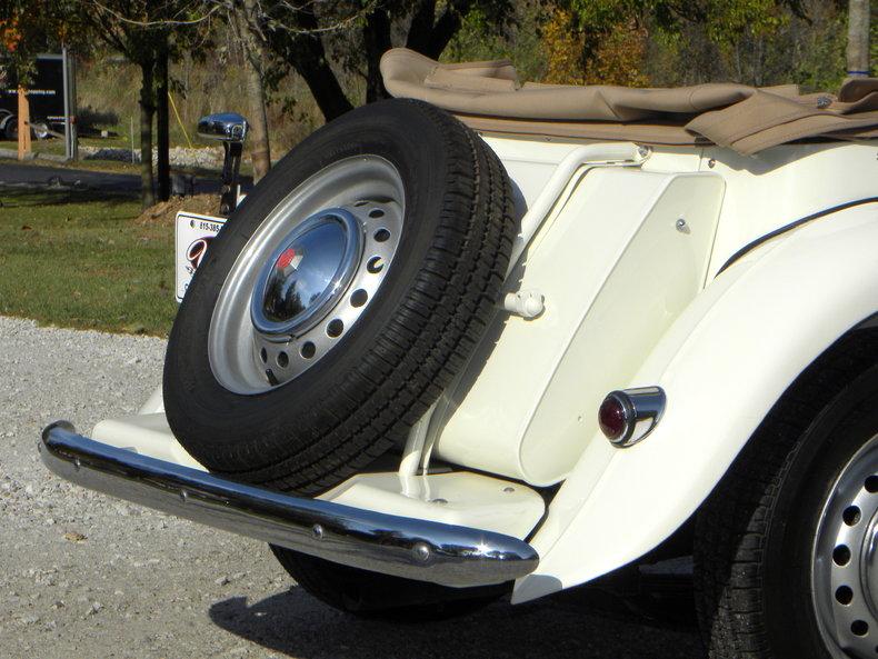 1953 MG TD Image 36
