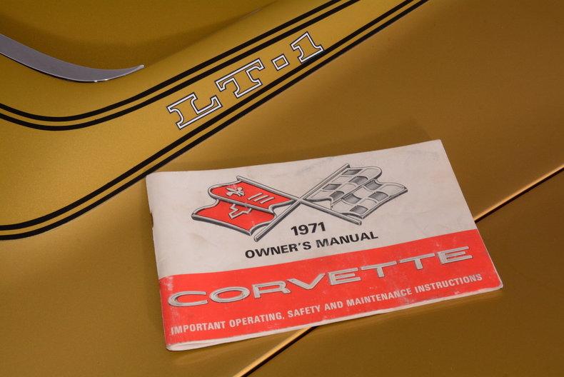 1971 Chevrolet Corvette Image 21
