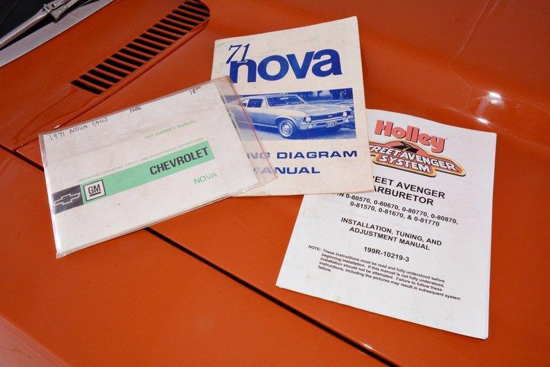 1971 Chevrolet Nova Image 60