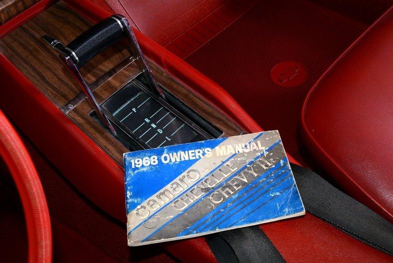 1968 Chevrolet Camaro Image 47