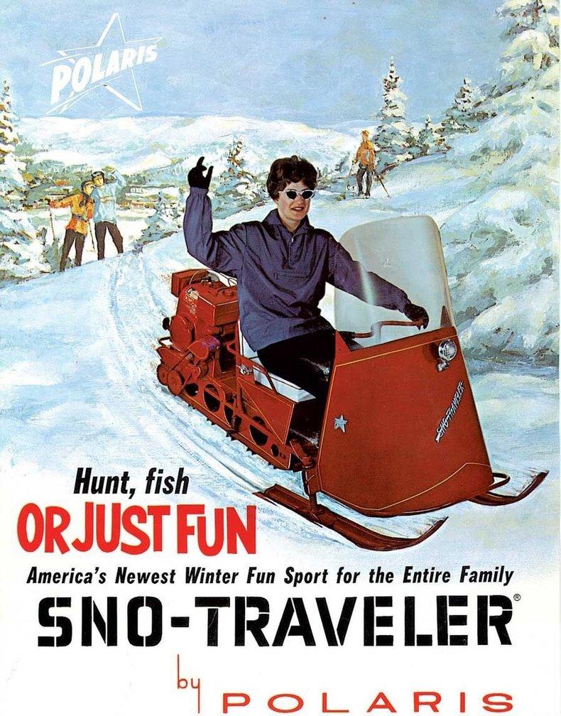 1962 Polaris Sno-Traveler Image 2