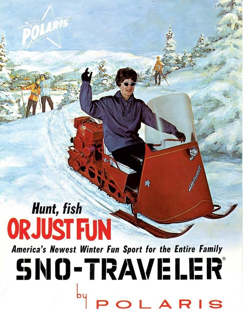 1963 Polaris Sno-Traveler Image 2
