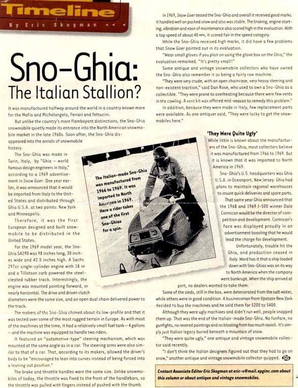 1968 Sno Ghia  Image 2