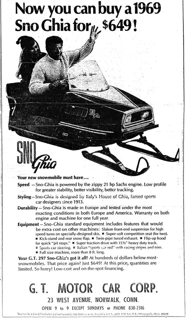 1968 Sno Ghia  Image 4