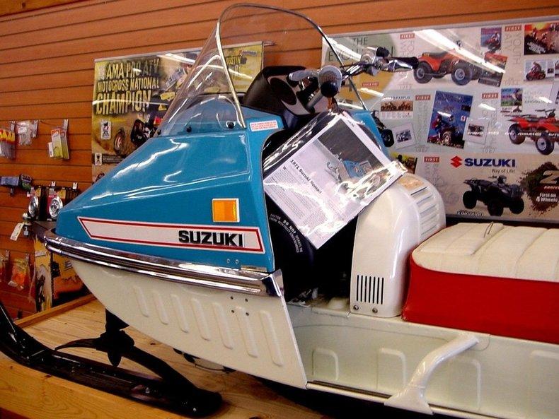 1973 Suzuki Nomad Image 3