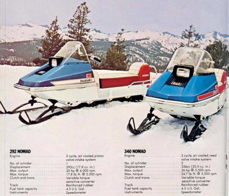 1973 Suzuki Nomad Image 2