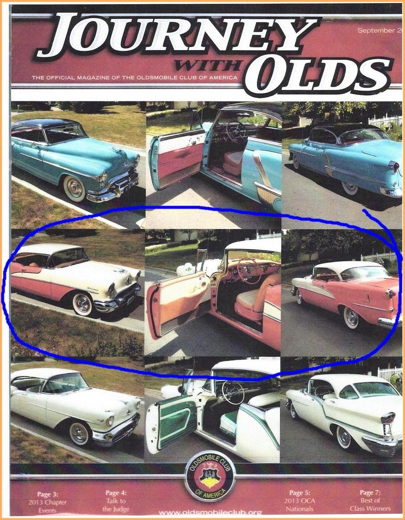 1955 Oldsmobile 98 Image 93