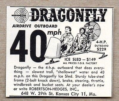1957 Dragonfly Ice Sled Image 3
