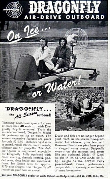 1957 Dragonfly Ice Sled Image 5