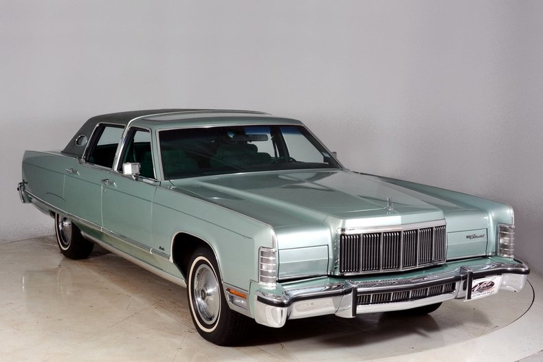 1976 Lincoln Continental Image 78
