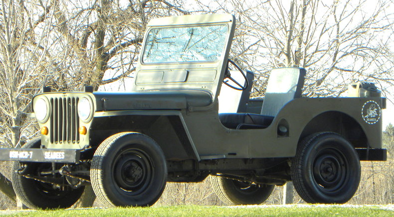 1952 Willys CJ3A