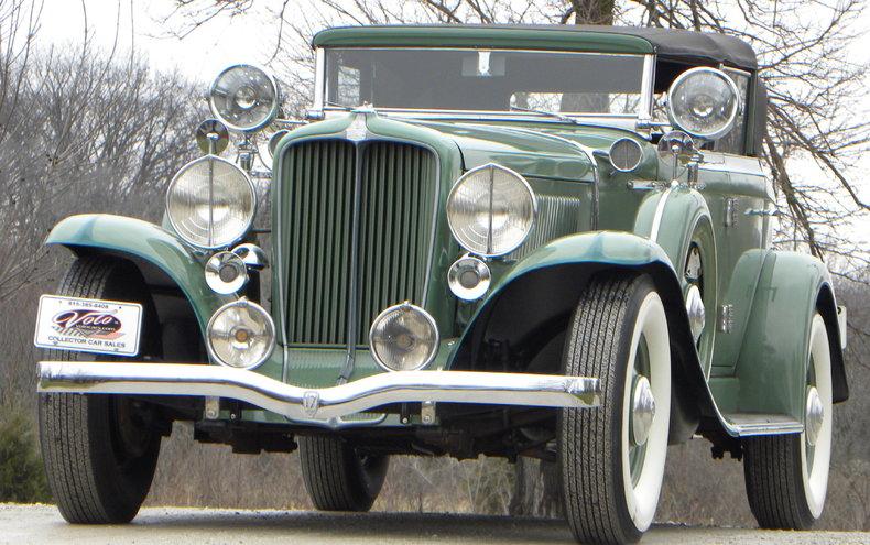1933 Auburn 12-161A Image 6