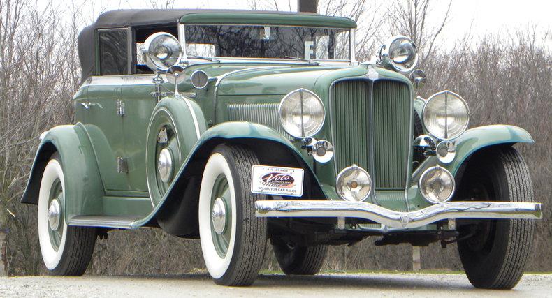 1933 Auburn 12-161A Image 7