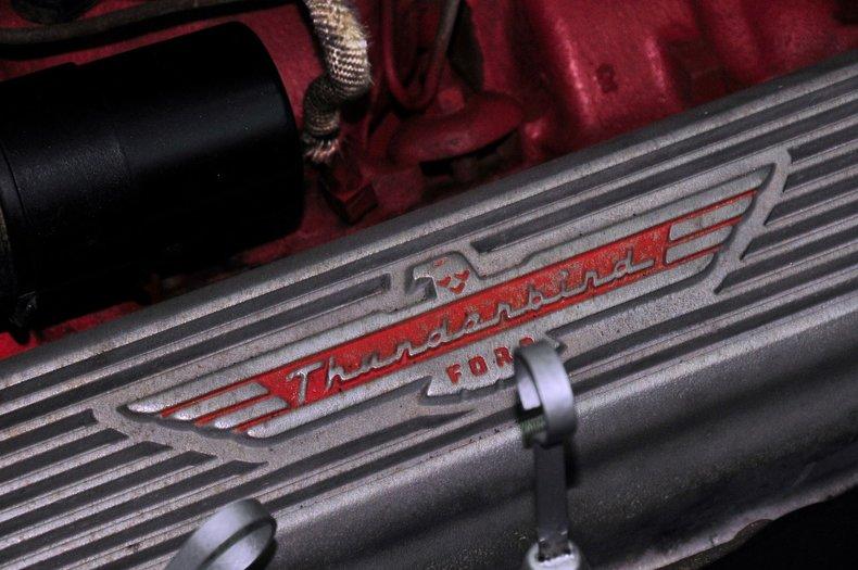 1957 Ford Thunderbird Image 24