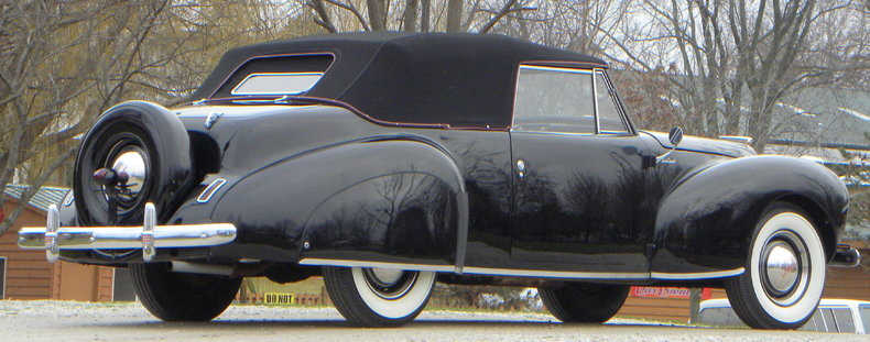 1941 Lincoln Continental Image 10