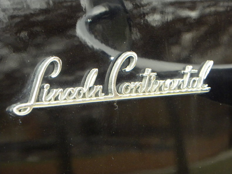 1941 Lincoln Continental Image 18