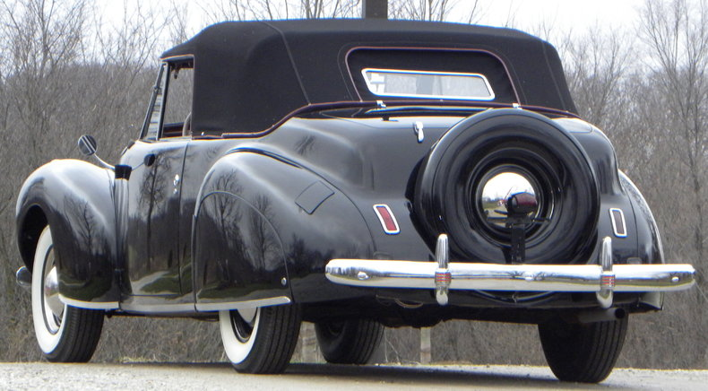 1941 Lincoln Continental Image 22