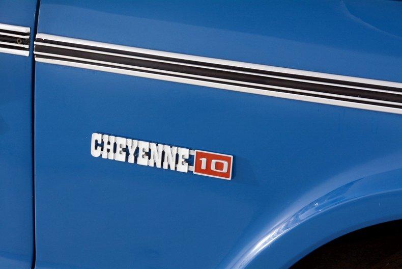 1970 Chevrolet Cheyenne Image 14