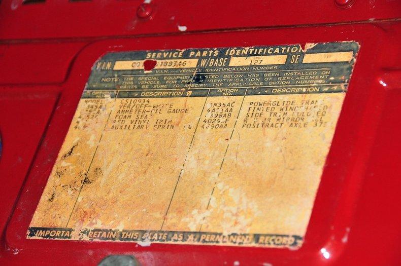 1968 Chevrolet C10 Image 56