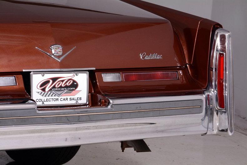 1975 Cadillac Sedan deVille Image 16