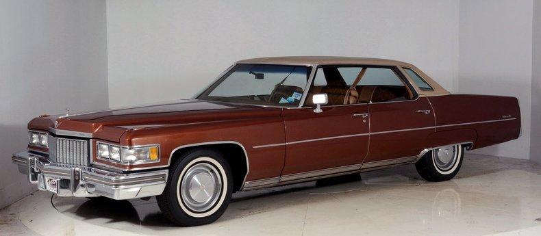 1975 Cadillac Sedan deVille Image 61