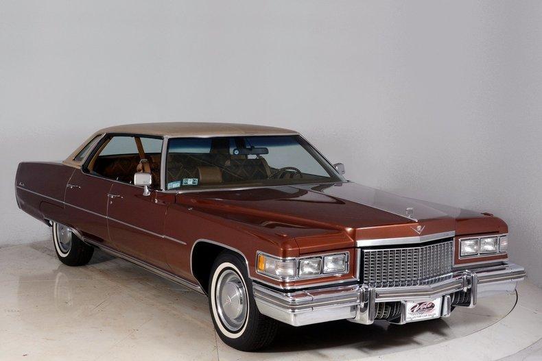1975 Cadillac Sedan deVille Image 79