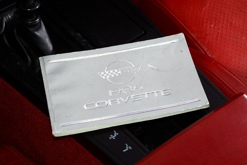 1986 Chevrolet Corvette Image 41