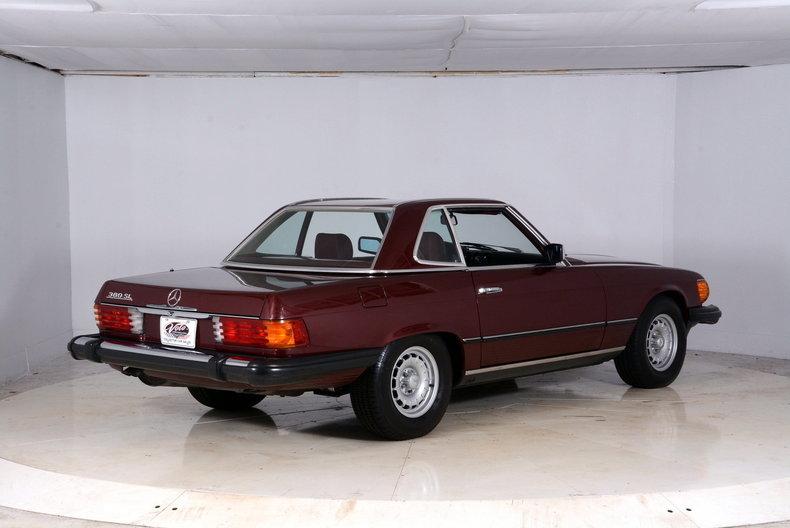 1985 Mercedes-Benz 380SL Image 17