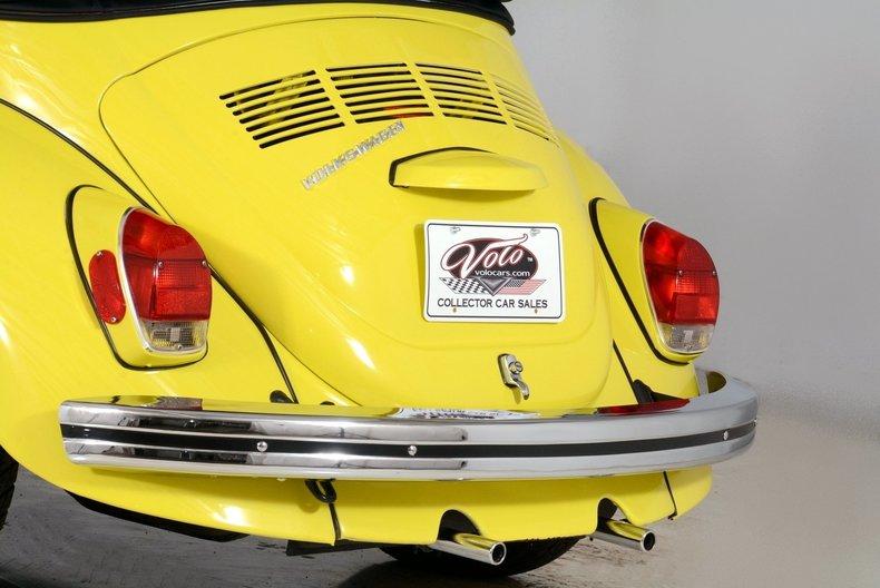 1971 Volkswagen Super Beetle Image 22