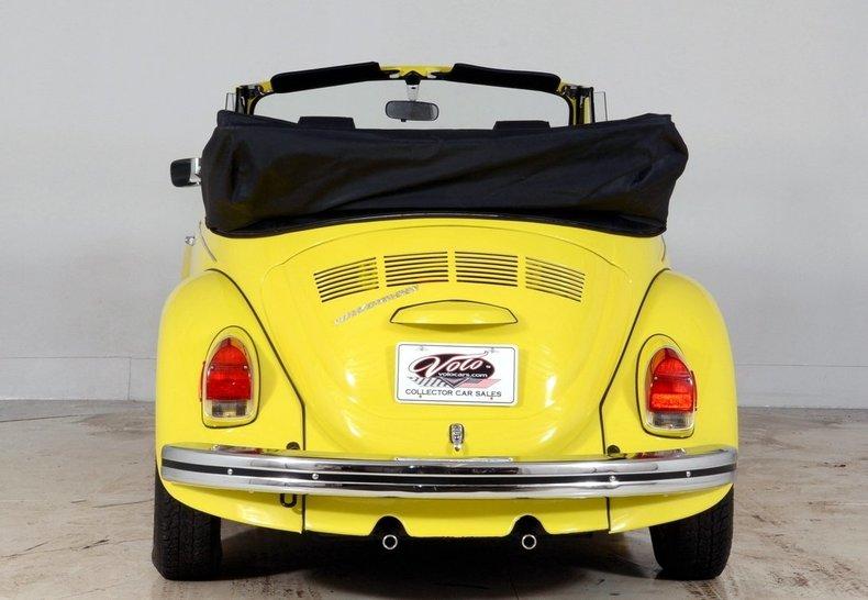 1971 Volkswagen Super Beetle Image 25