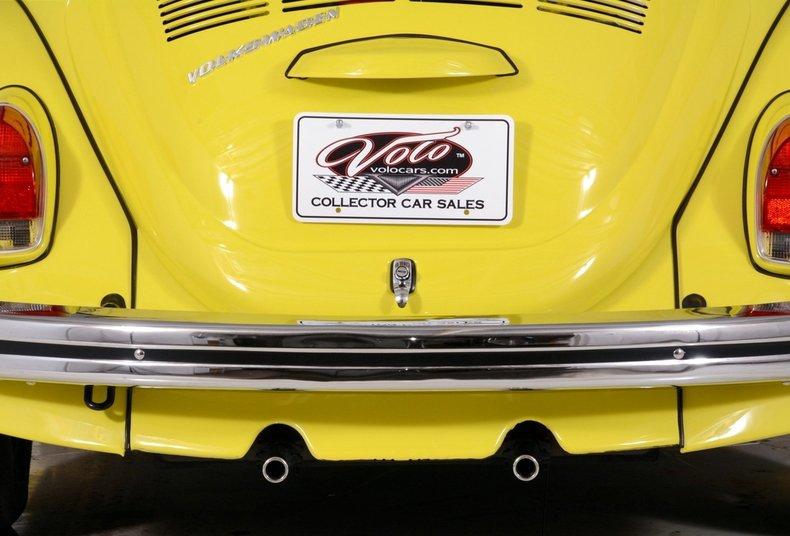 1971 Volkswagen Super Beetle Image 43