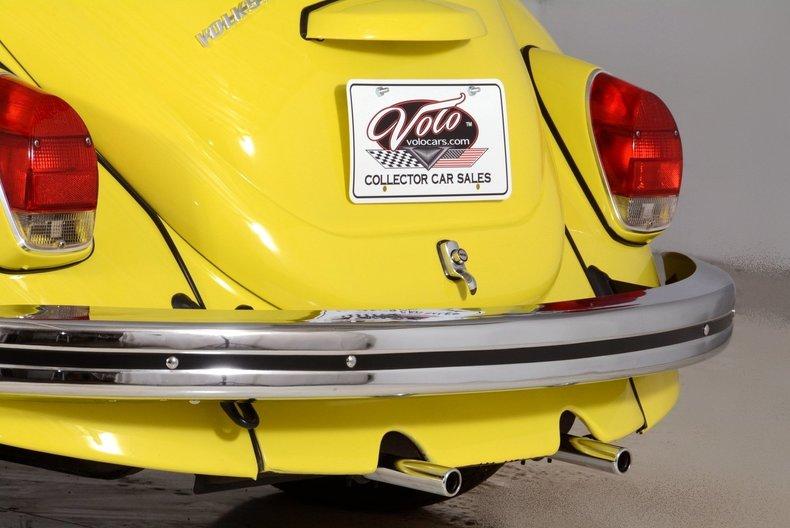 1971 Volkswagen Super Beetle Image 70