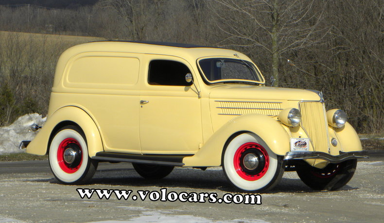 1936 Ford Delivery Image 1