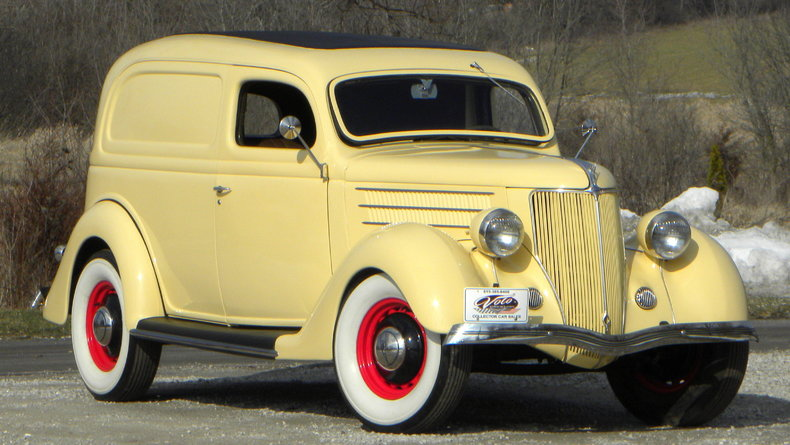 1936 Ford Delivery Image 2
