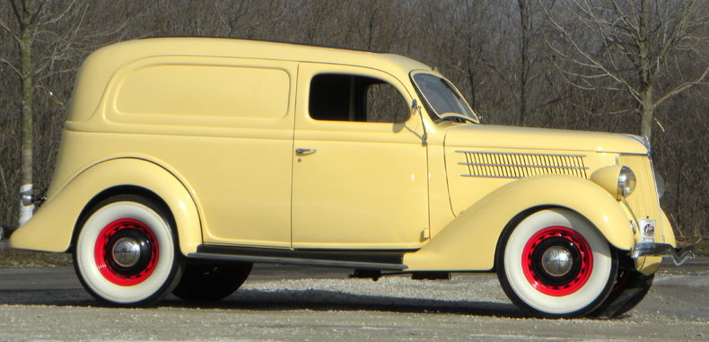 1936 Ford Delivery Image 3